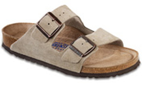 Birkenstock Arizona Soft Footbed Taupe Gina Mama's I Love Birkenstocks