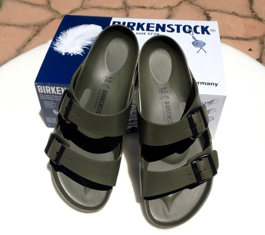 Birkenstock Arizona EVA Green Gina Mama's I Love Birkenstocks