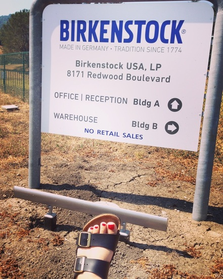 Gina Mama's I Love Birkenstocks Knock Off Birkenstocks Counterfeit Birkenstocks Fake Birkenstocks Fuzzy Birkenstocks Birkenstock USA  Building