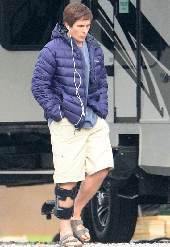 Gina Mama's I Love Birkenstocks Christian Bale in Birkenstocks